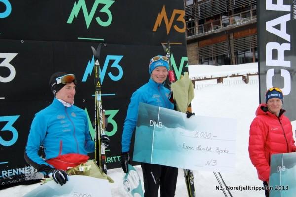 N3-Norefjelltrippelen 2013_Rennet_Pallen