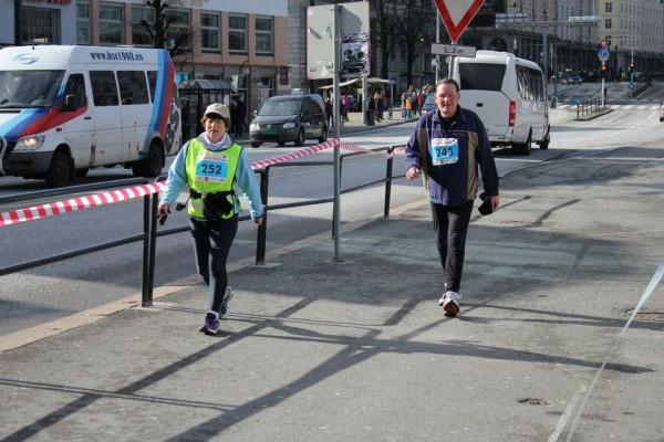 Ikke noe maratonløp i Bergen uten jernmannen Hans Jacob Berntsen. Still going strong!