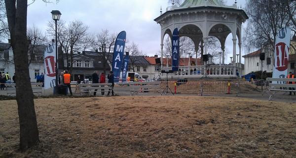 Busterudparken er sentrum for Halden Bruløp.