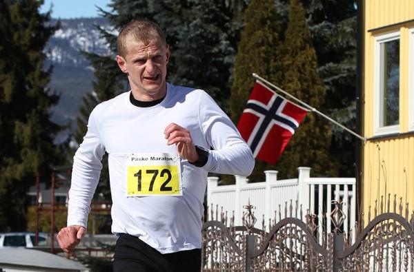 Vant gjorde denne karen, Gerhard Sletten fra Oslofjord Triathlon. Foto: Bjørn Hytjanstorp