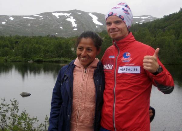 Fjorårsvinnerne Gloria Vinstedt og Bjørn Tore Kronen Taranger er påmeldt i år også.