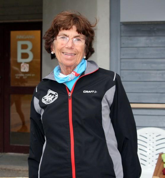 Berit Kristiansen ønsker alle sammen velkommen til bursdagsfest i morgen.