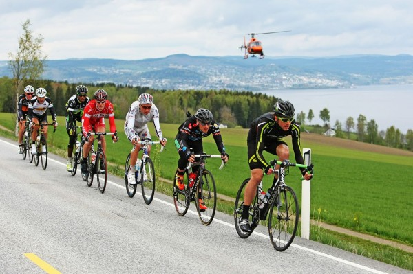 Full fart fra fjorårets Glava Tour. I år blir det enda bredere TV-dekning både fra helikoptere og motorsyklister.