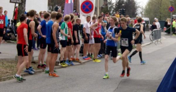 FIK Orion vant klart juniorklassen på sterke 56.28, etter å ha ledet hele veien etter 2.etappe. Foto: Njål Ekern