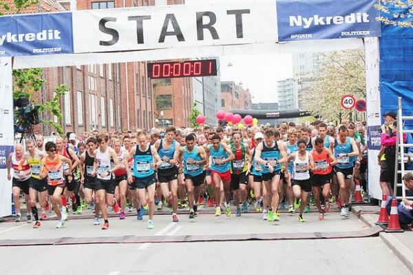 Starten går for København Marathon 2013. Foto: Signe Vest, SpartaBilleder
