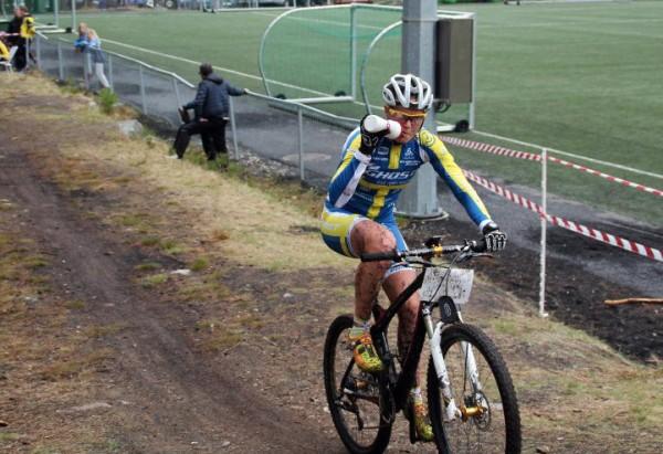 Alexandra Engen, regjerende svensk verdensmester i sprint, vant rundbanerittet i Norgescupen. Foto: Lena Øverbye