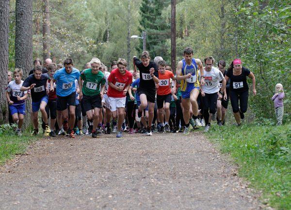 Starten går for siste løp i fjor, fotografert av Per Inge Østmoen og lånt fra hjemmesiden til Bøler IF.