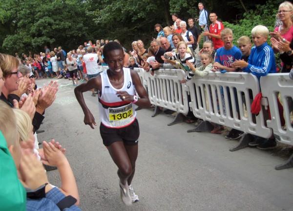 Isabellah Andersson med sin fjerde strake seier. Foto: Sportsmanden/Marie Wibe Bakker