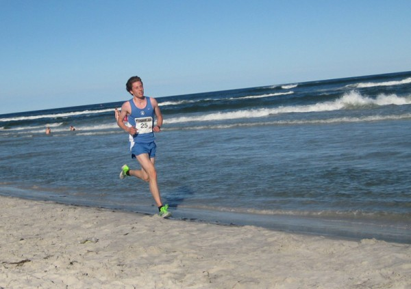 Svenske Marcus Gustafsson fra SpårvagansSK blir nr 10. Foto: Sportsmanden.no / Marie Wibe Bakker
