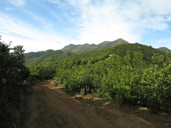 Strekningen mellom El Pilar og El Reventon (rekognoseringstur)
