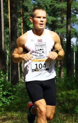 Arnt Sveen debuterer på full distanse under Ringeriksmaraton. Foto: Christian Fredriksens blogg
