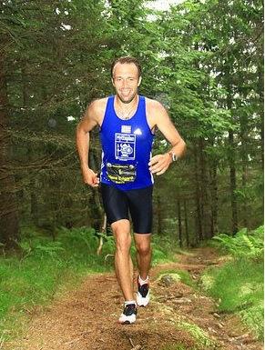 Hans Edgar Rakeie stiller også til start i parmaraton. han ble nylig nr 2 i ultraløpet kristins runde over 81 km i terrenget i Nordmarka. Bildet er hentet fra Christian Fredriksens blogg