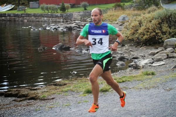 John Henry Strupstad fra FIK Ren-Eng blir nummer 2. Foto: Rolf Bakken