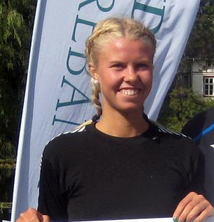 Marit Haslie vant også Årungen Rundt i sommer, som dette bildet er fra. (Foto: Frode Monsen, Sportsmanden)
