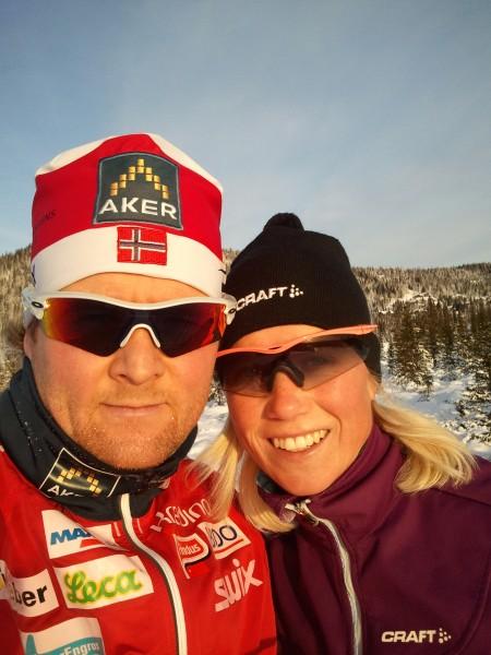 Ronnie Frydenberg Hansen får nok enda mer respekt blant langrennsgutta etter sin strålende debut på maraton. (Foto: Privat)