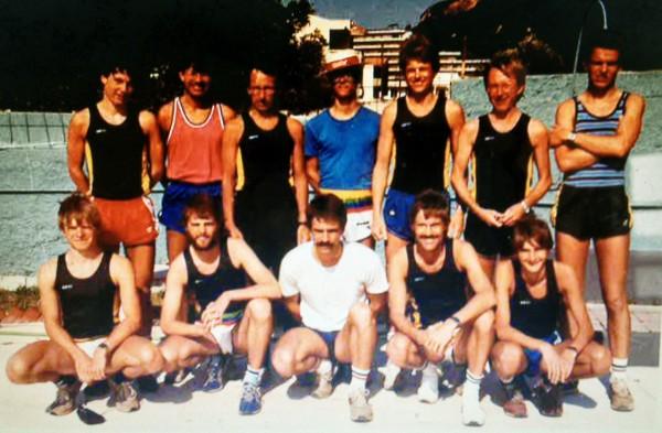 Oppegård IL sitt lag fra treningsleir på Rhodos i 1984.