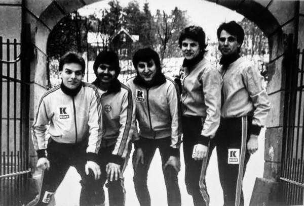 Rune Onstad, Tron Gifstad, Geir Hovland, Johnny Tørklep og Carl Aamodt