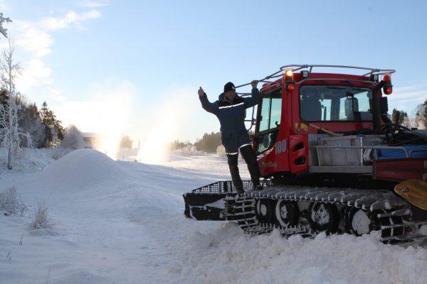 Østre Greverud Gård - skiløyper lages 2013