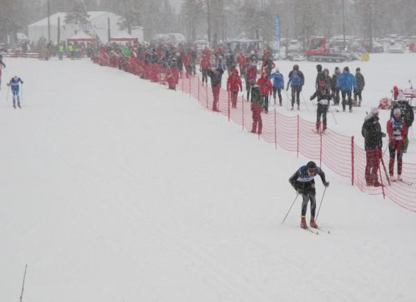 KARRIEREBESTE? Fredrik Tveter på vei ut fra start på Lygna. (Foto: Arnstein Andreassen)
