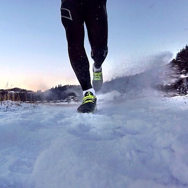 Fint og artig løpebilde sendt oss på instagram fra Kim Olsen.