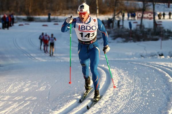 Martin Johnsrud Sundbye har overtatt ledelsen sammenlagt- Her fra Beitosprinten (Foto: Bjørn Hytjanstorp)