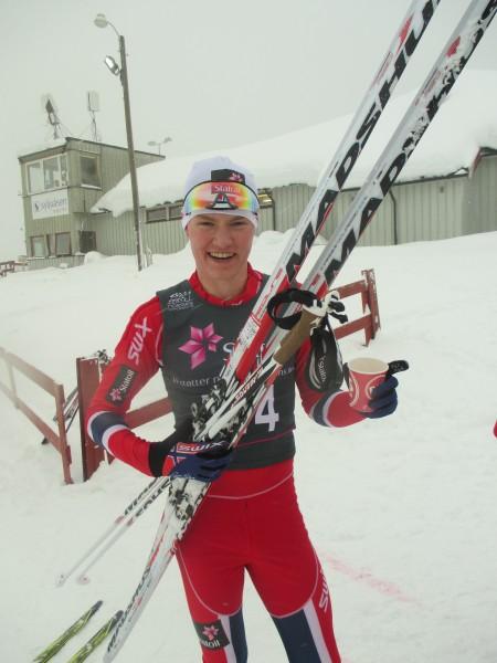 Johan Hoel  tok en ny seier, foran junior VM-vinner Eirik Sverdrup Augdal.