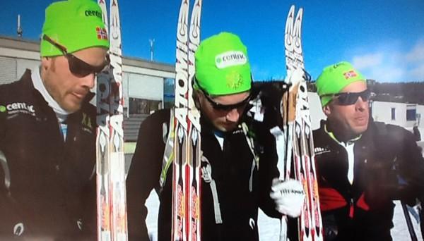 det var langt flere enn de topptrente gutta fra Team Centric som gikk uproblematisk over fjellet på lørdag.