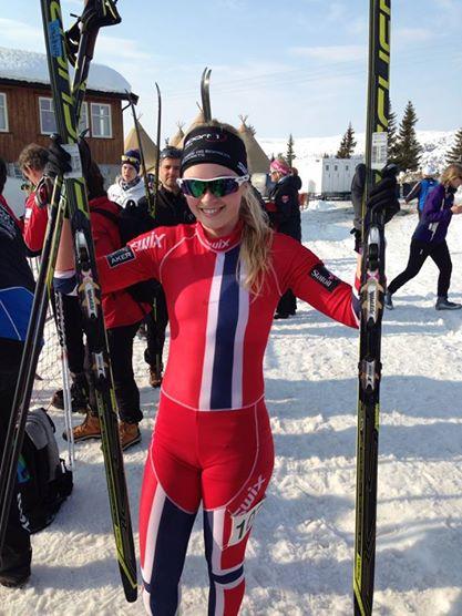 Martine Lorgen Øvrebust hadde en kjempeavslutning med to seiere på Gåla, men manglet 10 poeng på å vinne sammenlagt i NC. (Foto: Liv-Janne Øvrebust)