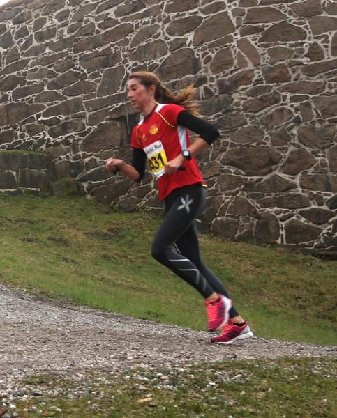 Mona Rydland fra BUL løper alltid bra og knep tredjeplassen på 1.29.12.