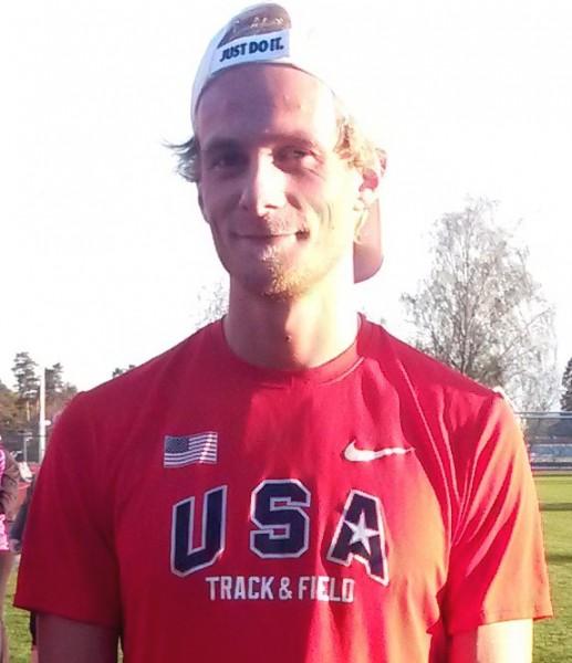 Den lovende mellomdistanseløperen Vetle Aasland, Askim-gutt som løper for Ull/Kisa, vant det fjerde Askimløpet. Foto: Roar Tomter, Sportsmanden