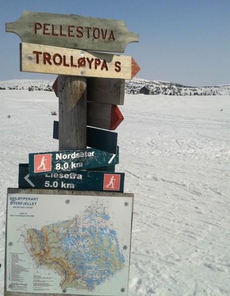 Trollløypen-Pellestova
