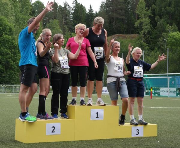 Spreke loklpolitikere som stilte sporty opp i Oppegårdmila! Slike politikere, det vil gamle Norge ha!