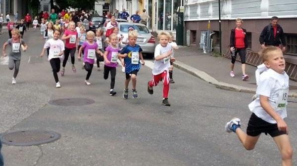 Barneløpet mot mål