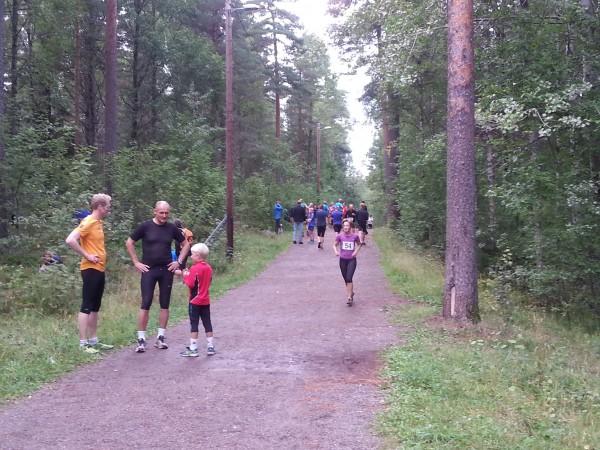 Ulsrudvannet Rundt er et gratisløp som går på grusvei og sti i området ved Haraløkka på Bøler. Foto: Arvid Mathiesen