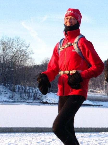 Tredje beste kvinnelige veteranløper var Nina Wavik Ytterstad, som vant gullskoen for to år siden. Hennes beste resultat i fjor var VM i halvmaraton i København på 1.21.11. (Foto: Frode Monsen)