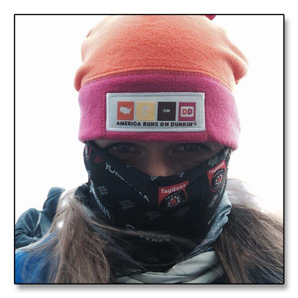 Dette ER Janicke... tror vi. I hvert fall er bildet hentet fra en kald treningstur fra bloggen hennes.