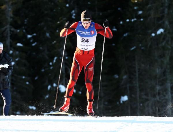 Thomas Giftsad har aktive dager. Fredag gikk han Skandinavisk Cup i Falun, lørdag vant han Sørkedalsrennet i Oslo. Her fra NM i 2013. Foto: Bjørn Hytjanstorp