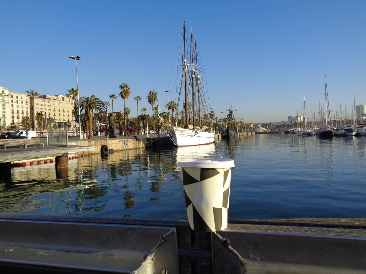 """""""Barcelona - Such a beautiful horizon, Barcelona - Like a jewel in the sun"""" synger Freddie Mercury i sin kjærlighetserklæring til den katalanske smaragden! Det er stas å våkne opp fresh i topplokket mandag morgen for så å promonere ned La Rambla til Marina Port Vell med en dobbel Americano i labben:)"""