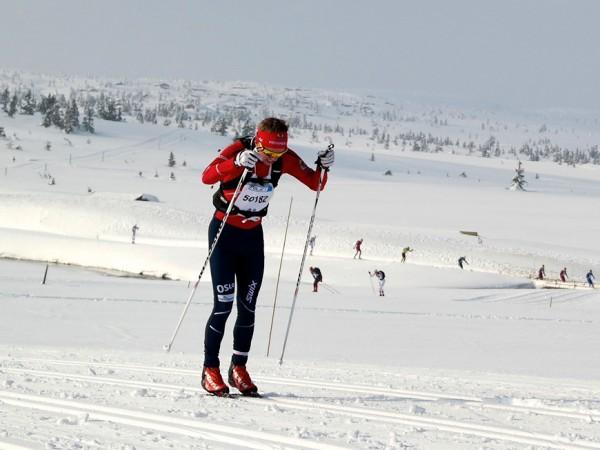 Junioren Ivar Ryttervold ble nummer 19 i HalvBirken i år. Her fra fjorårets renn. (Foto: Sportsmanden / Frode Monsen)