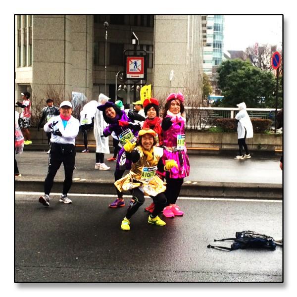 Tokyo15 - Utkledde løpere