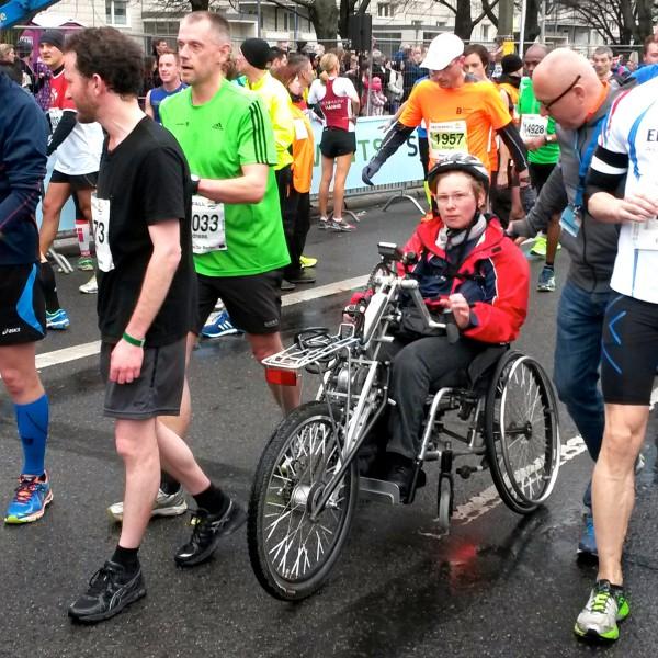 FLERE GRENER: Som vanlig i Tyskland er det også klasser båpde for avanserte rullestoler og for rulleskøyter. Foto: Sportsmanden / Frode Monsen