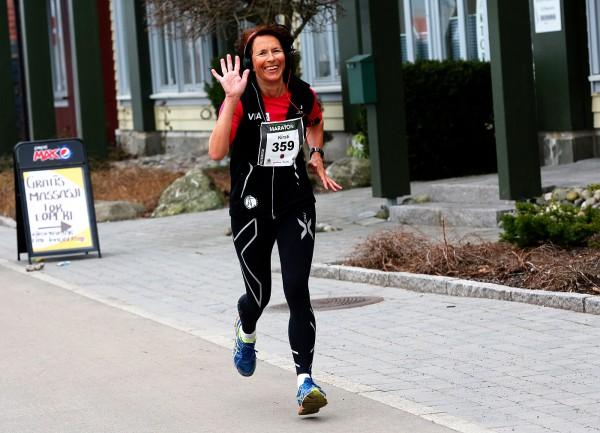 Holmestrand-Maraton-Kirsti-Linnebo
