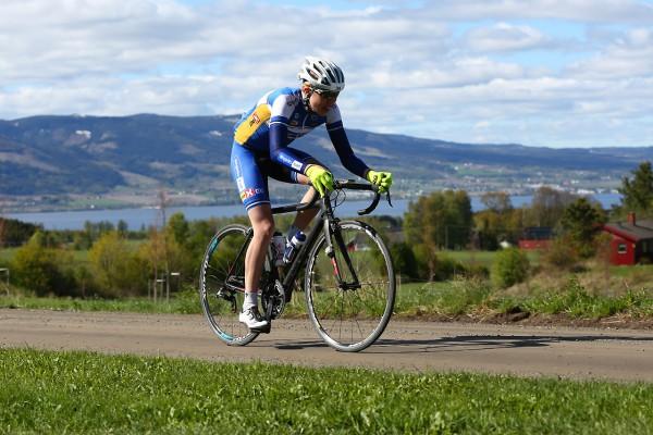Tore Andre Aase Vabo ble nummer 31 i juniorenes konkurranse.  Foto: Bjørn Hytjanstorp