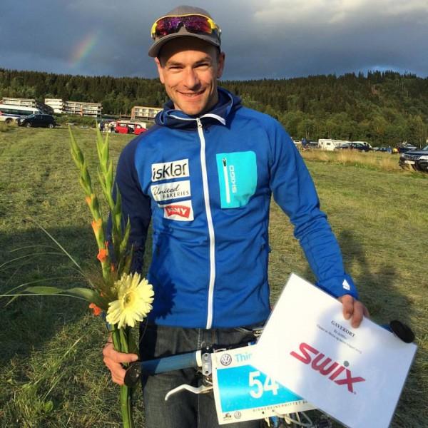 Arne Post kan smile etter en imponerende serie og Årts Supebirkebeiner 2015. (Foto: privat)