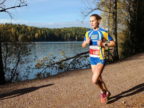 Heidi Pharo vant for to år siden, men ble spurtslått i fjor. Tar hun en ny seier i Nøklevann Rundt i år? Foto: Frode Monsen