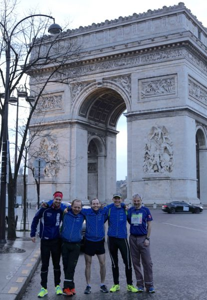 Noen av deltagerne fra Northern Runners. Foto: Eirin Bugge.