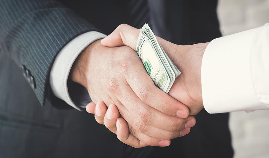 Financing Bribery?