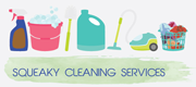 Squeaky Cleaning Services Logo