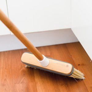 Broom in use