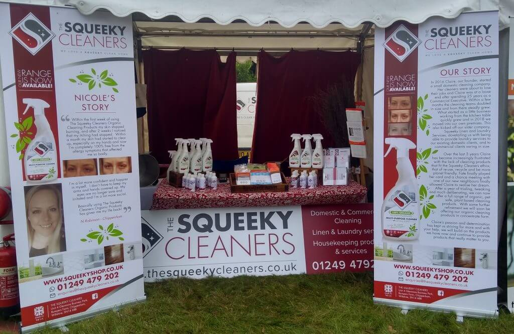 Squeeky Cleaners Stall